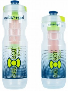 Gel-Bot Water Bottle with Gel Flask