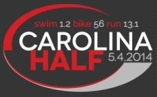 Carolina Half Triathlon – Sunday, May 04, 2014